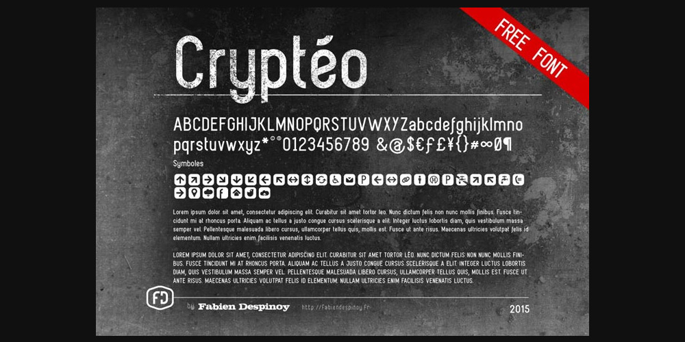 Crypteo Free Font