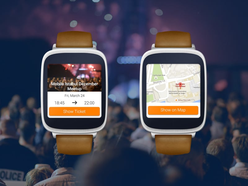 Eventbrite Android Wearable Device Template