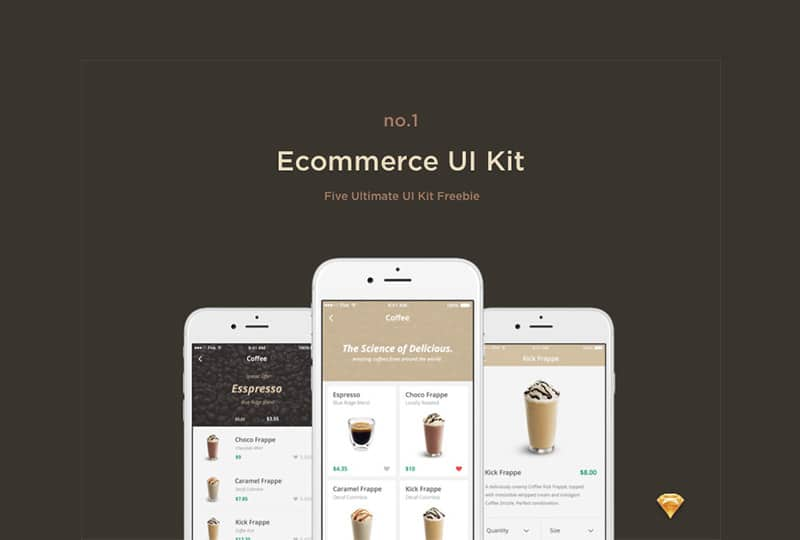 Free E commerce UI kit