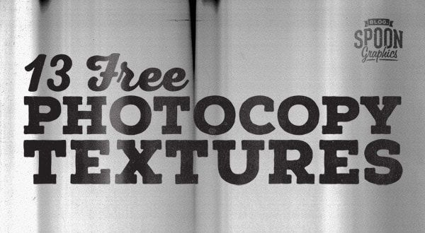 Free High Resolution Grungy Photocopy Textures