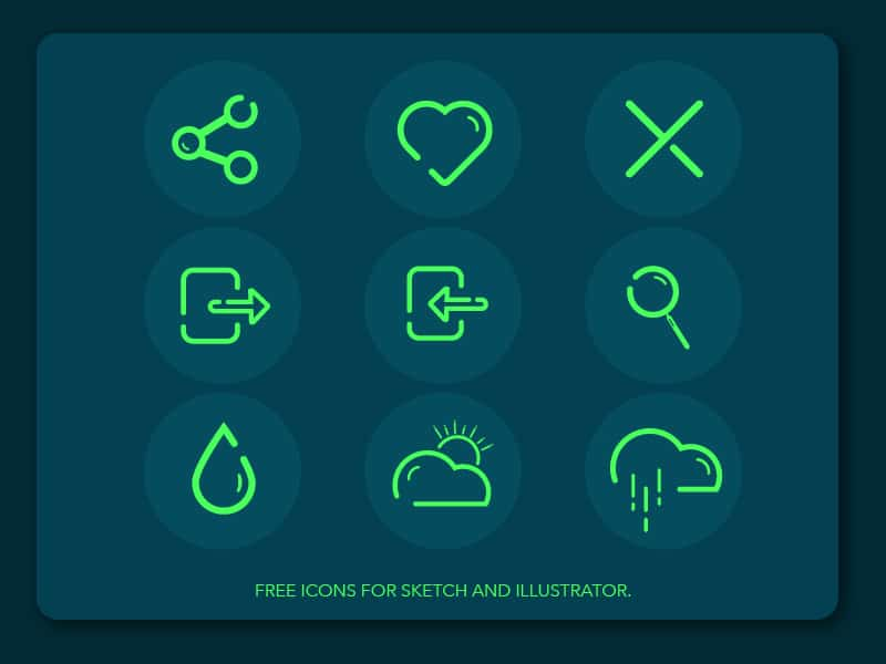 Free Icons Illustration