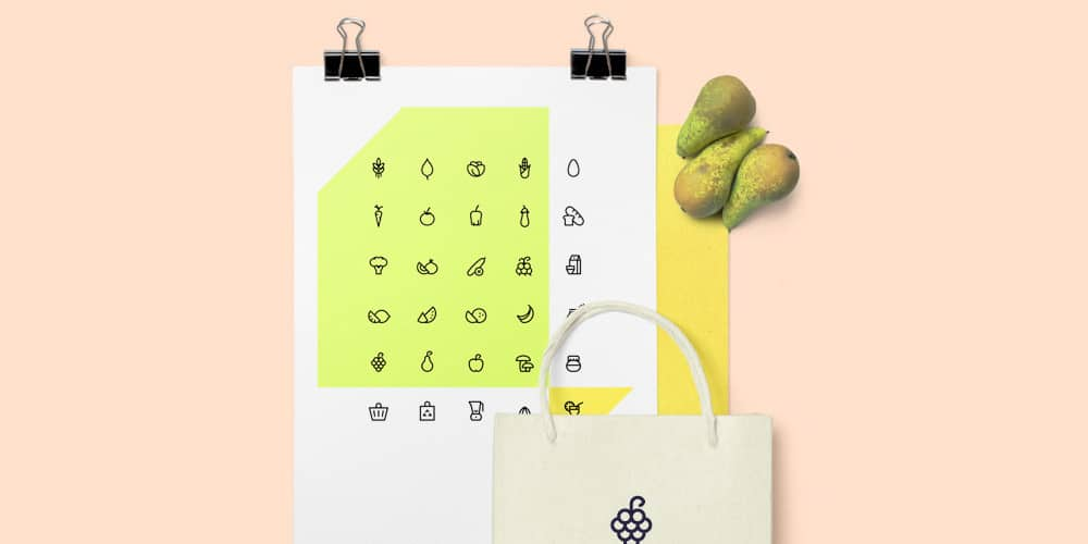Free Organic Food Icons