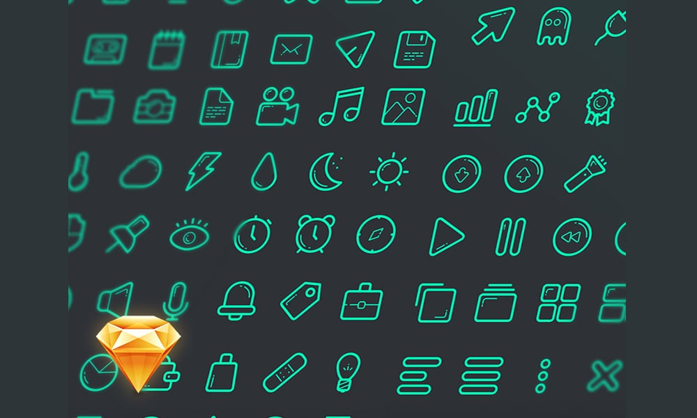 Free Sketch Icons