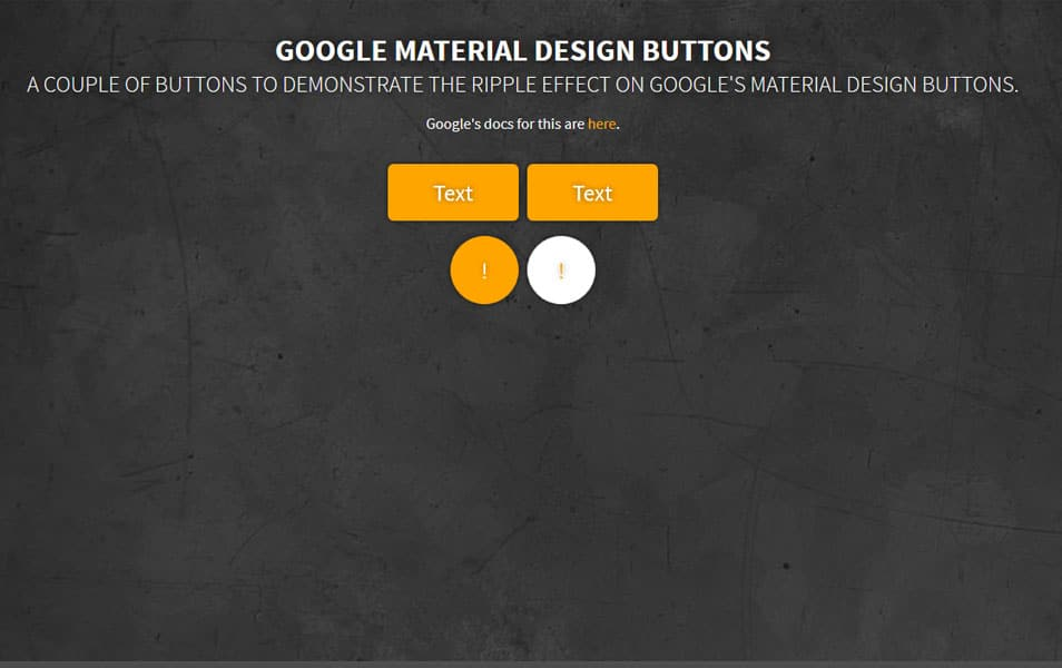 Google Button Ripple