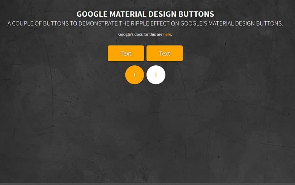 Google Button Ripple