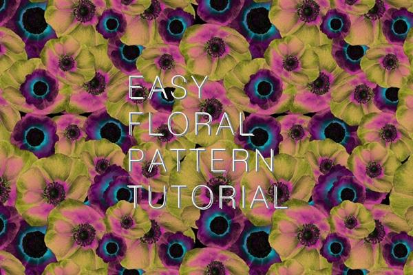 Handiwork Floral Pattern Tutorial