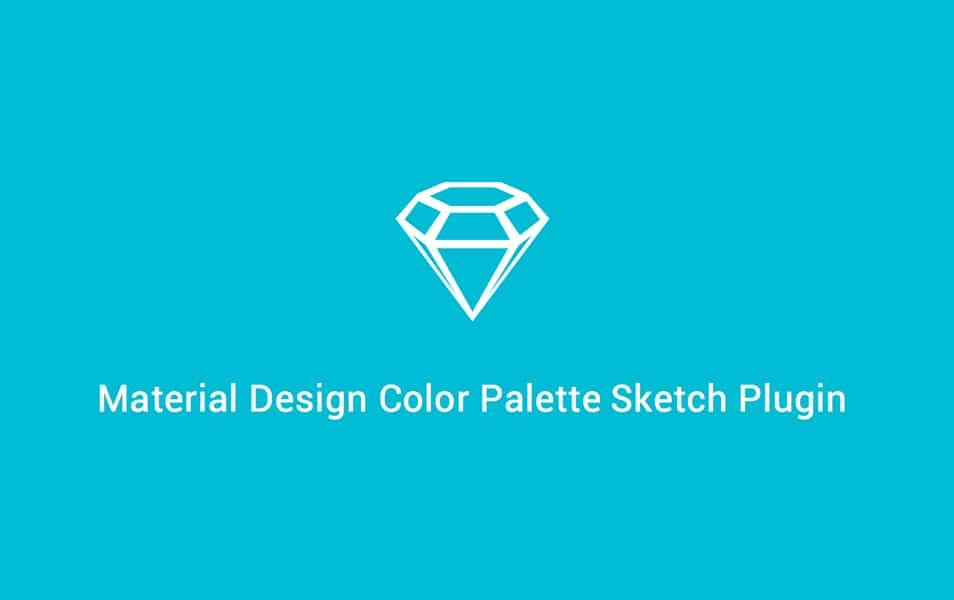 Material Design Color Palette Sketch Plugin