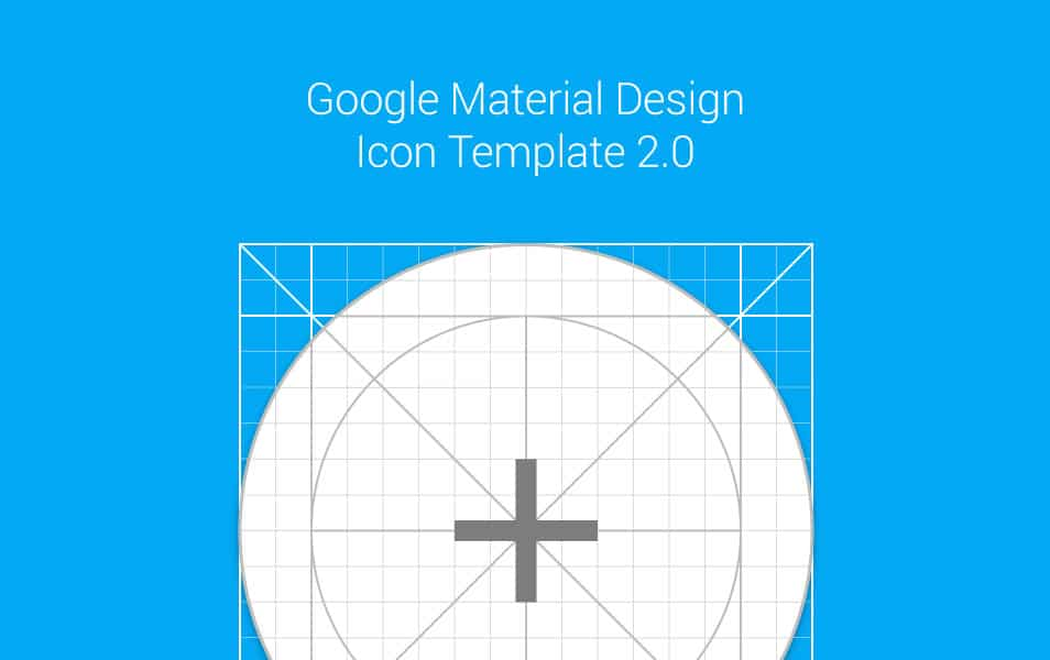 Material Design Icon Template (.AI)