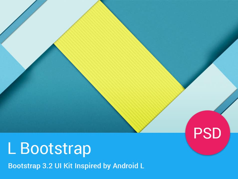 Material Design Inspired Bootstrap UI Kit