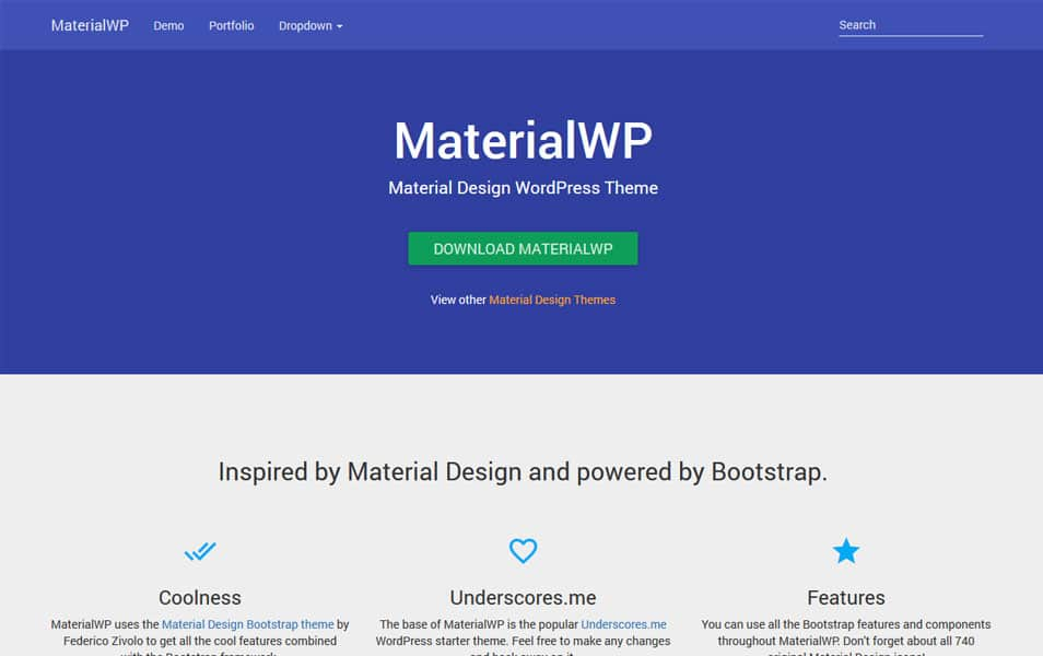 MaterialWP