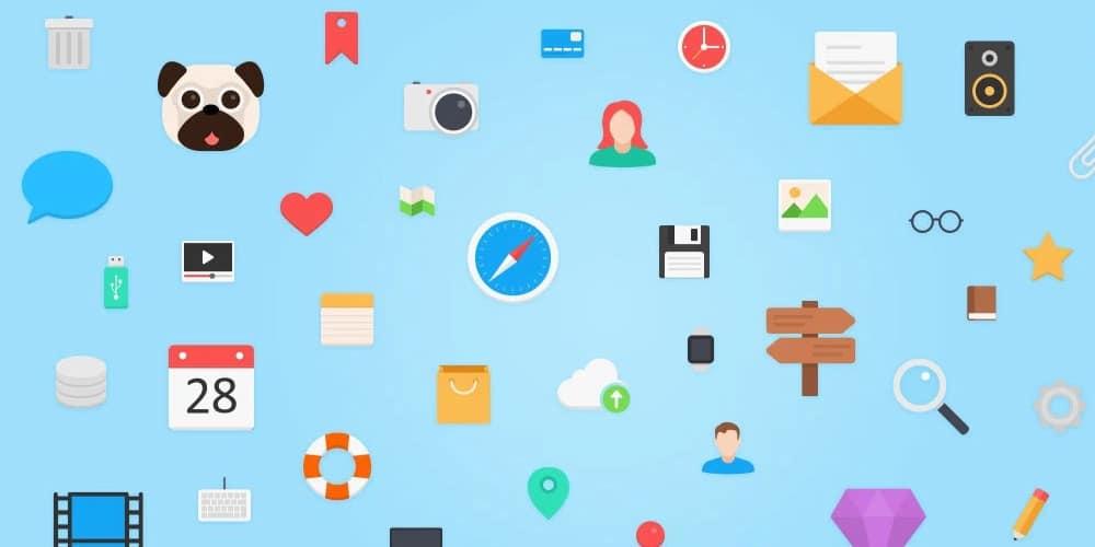 Mega Flagship Free Icons