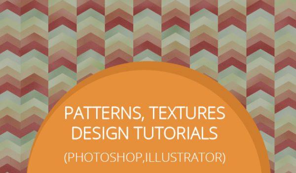 Patterns, Textures Design Tutorials