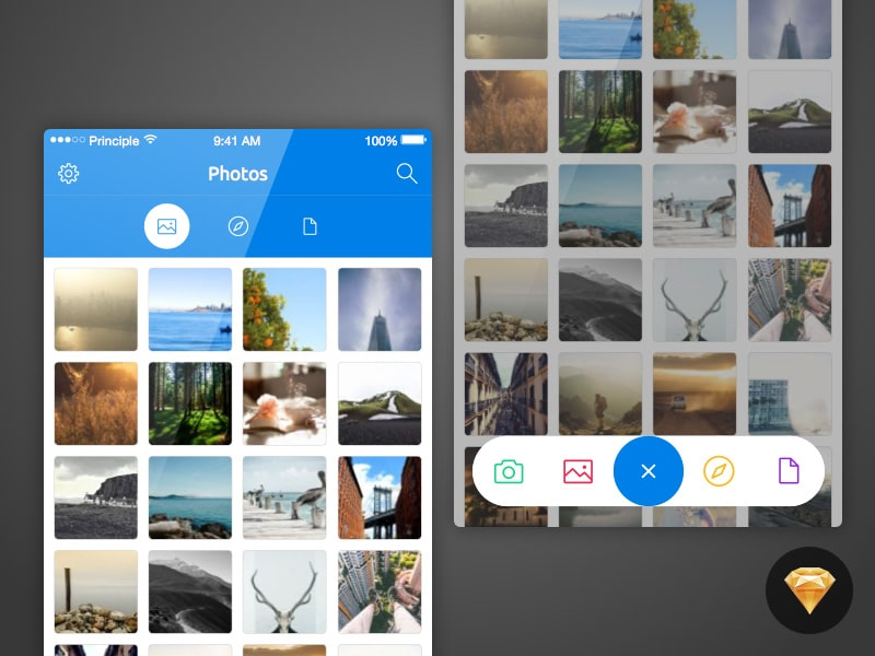 Photo Upload UI Kit