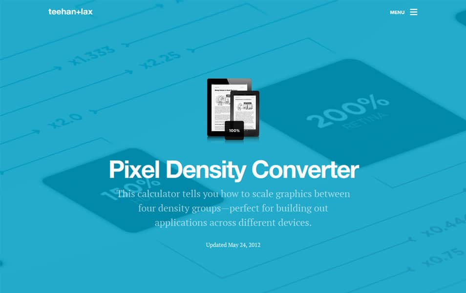 Pixel Density Converter