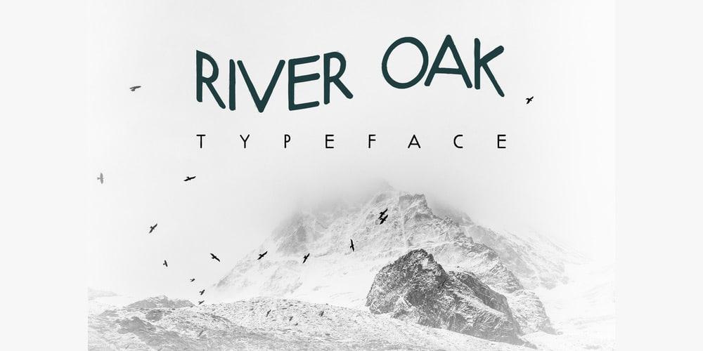 river-oak-free-font