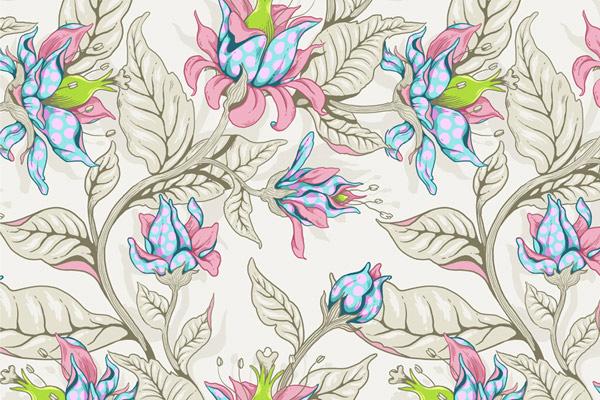 Seamless-Fantasy-Floral-Pattern