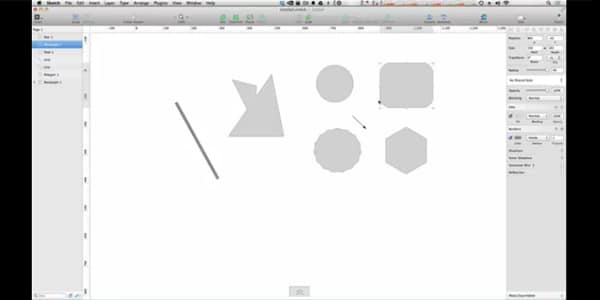 Shapes In Sketch 3