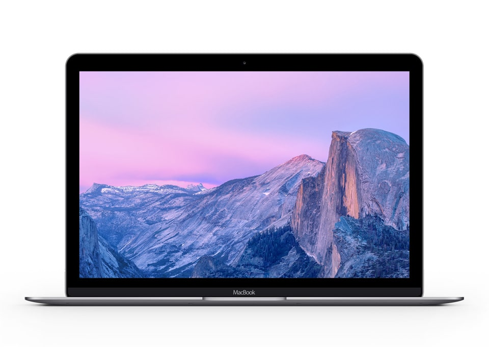 The MacBook Mockup PSD