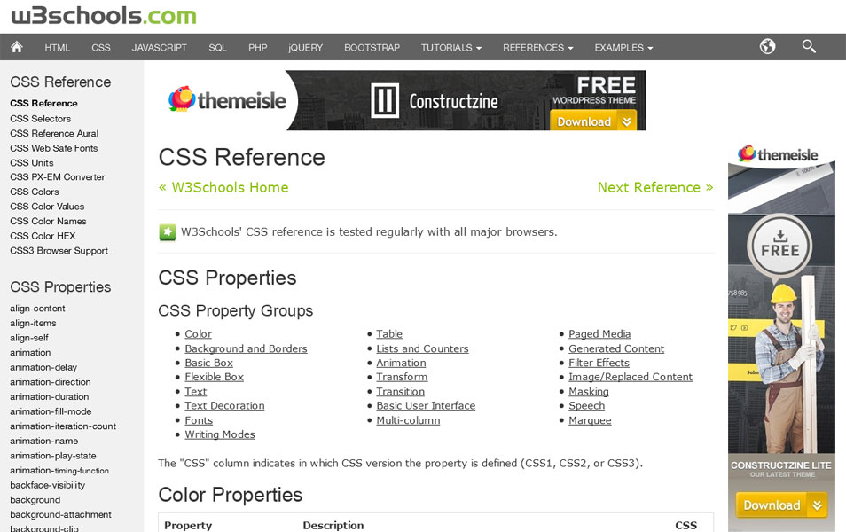 20 best css reference websites 187 css author