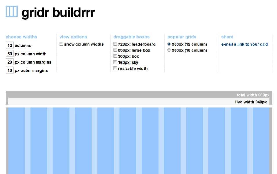 gridr buildrrr