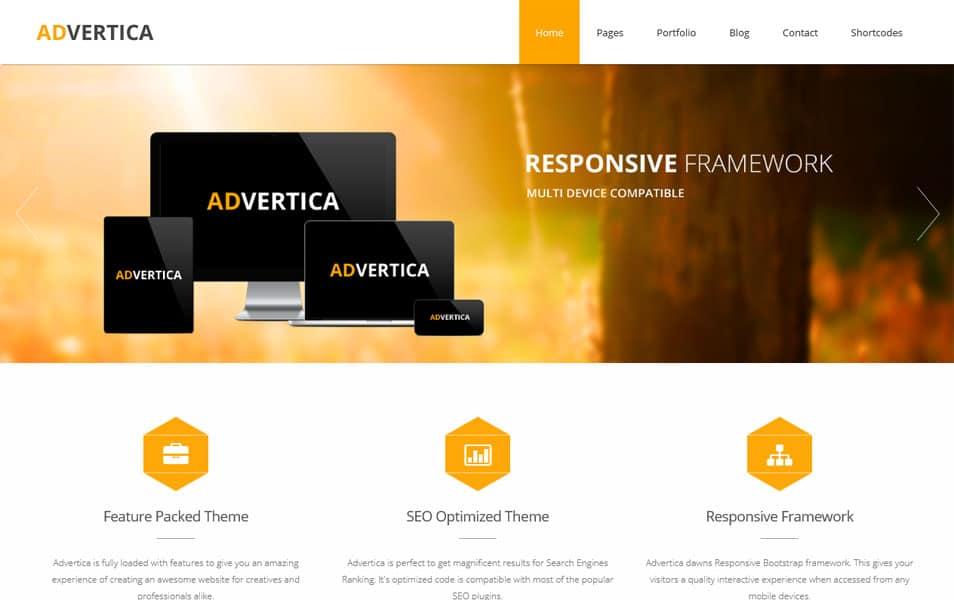 Advertica Lite WordPress Theme