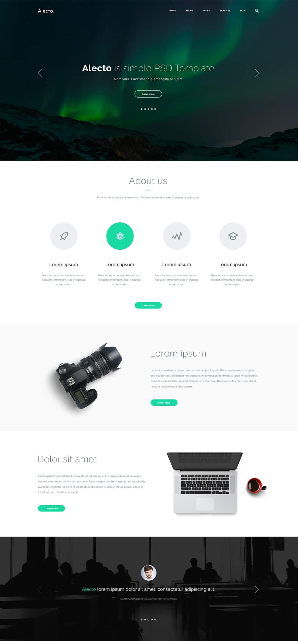 Alecto-Free-Web-Template-PSD