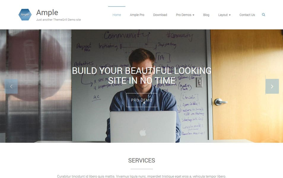 Ample Multipurpose Responsive WordPress Theme