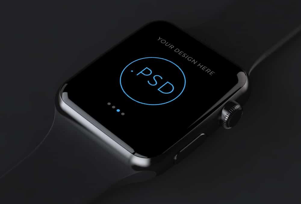 Apple Watch Free Mockup PSD