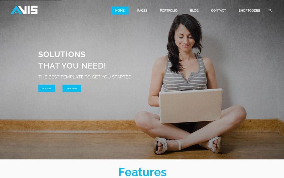 Avis - Consulting Business WordPress Theme