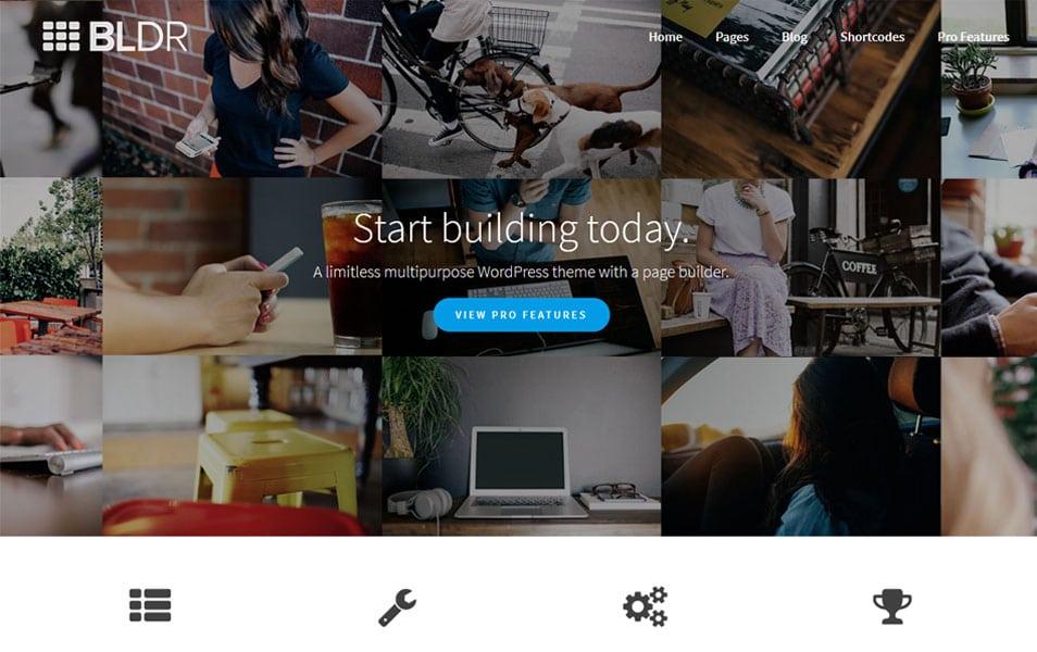 BLDR WordPress Theme