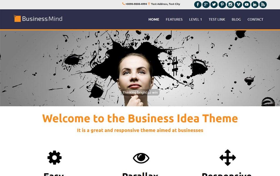 Business Mind WordPress Theme