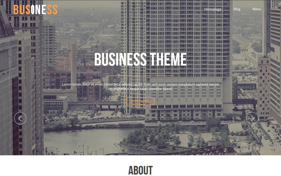 Business One WordPress Theme