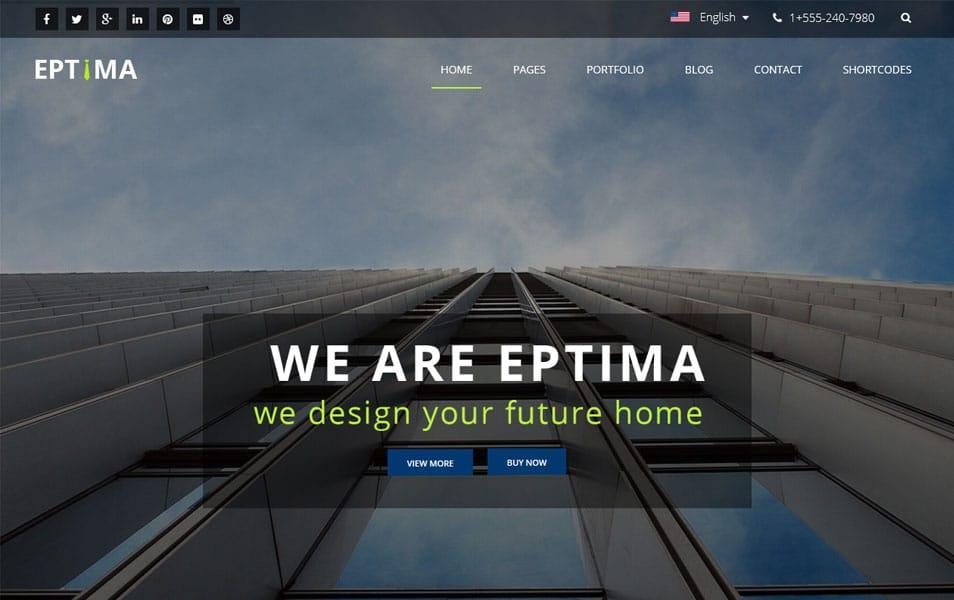 Eptima Lite WordPress Theme