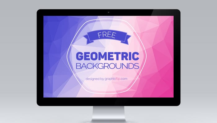Free Colorful Geometric Backgrounds