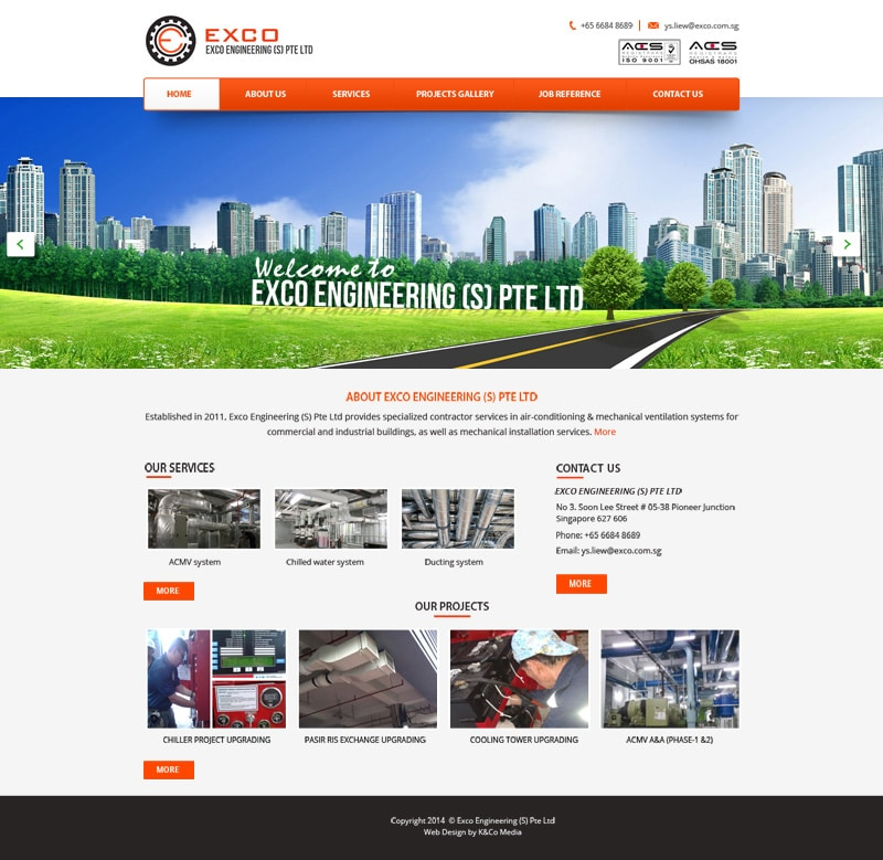 Free Multi purpose Business Web Template PSD
