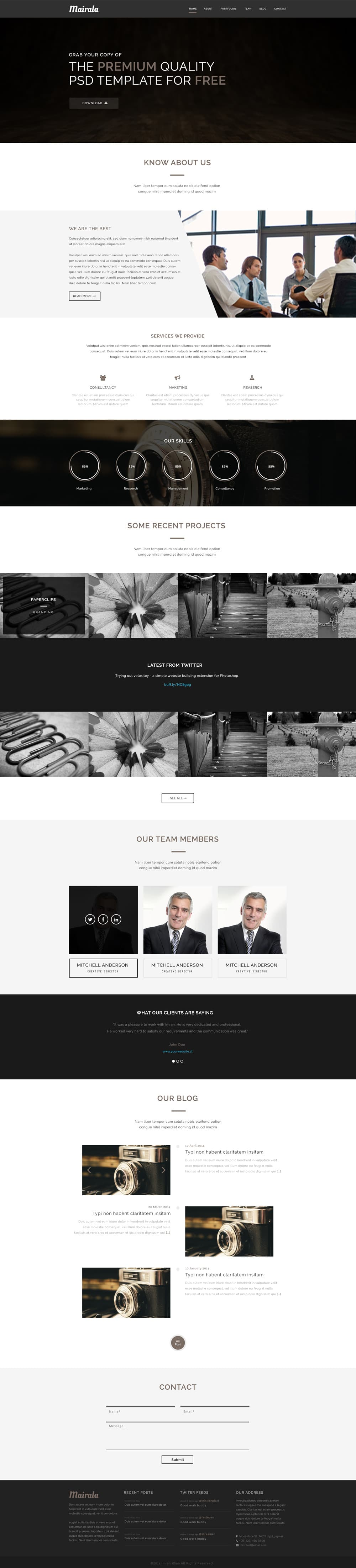 Free-One-Page-Corporate-Agency-Web-Template-PSD