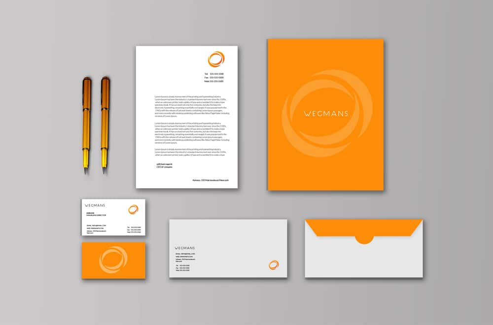 Free Stationary Mockup PSD