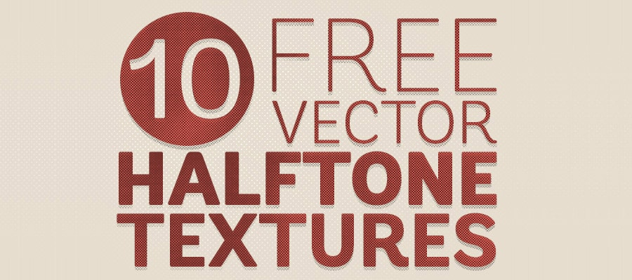Free Vector Halftone Texture Backgrounds