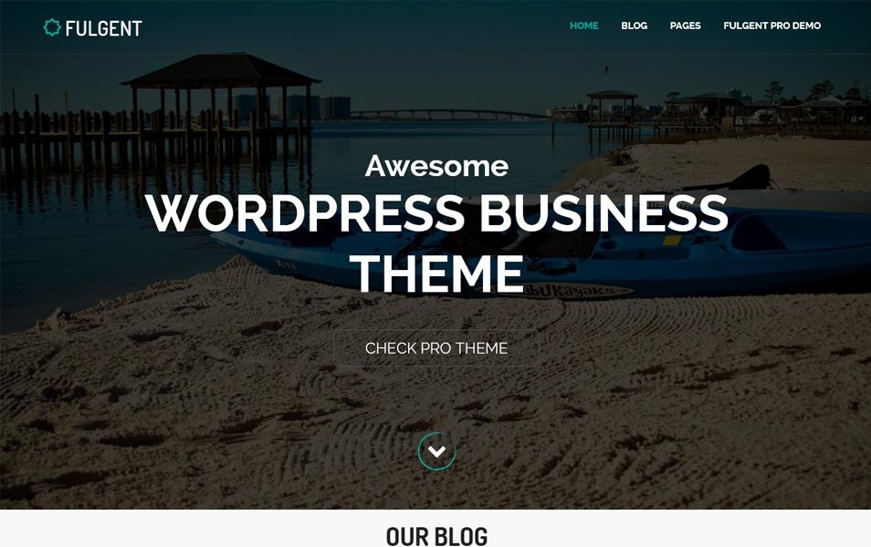 Fulgent Responsive WordPress Theme