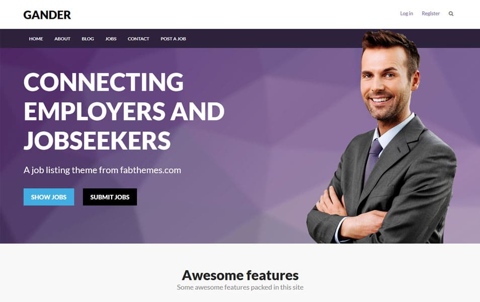 Gander WordPress Theme