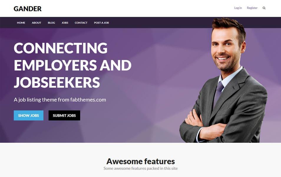 Gander WordPress Theme