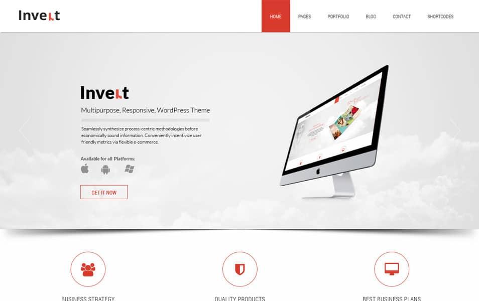 Invert Lite WordPress Theme