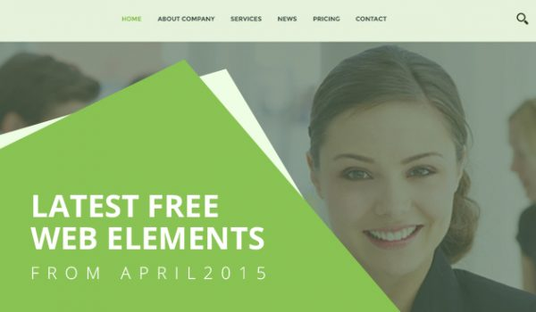 Latest Free Web Elements From April 2015