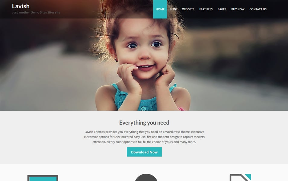 Lavish Responsive WordPress Theme