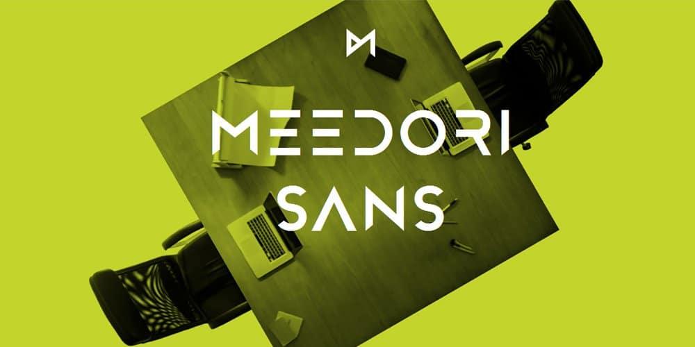 Meedori Sans – Free Font