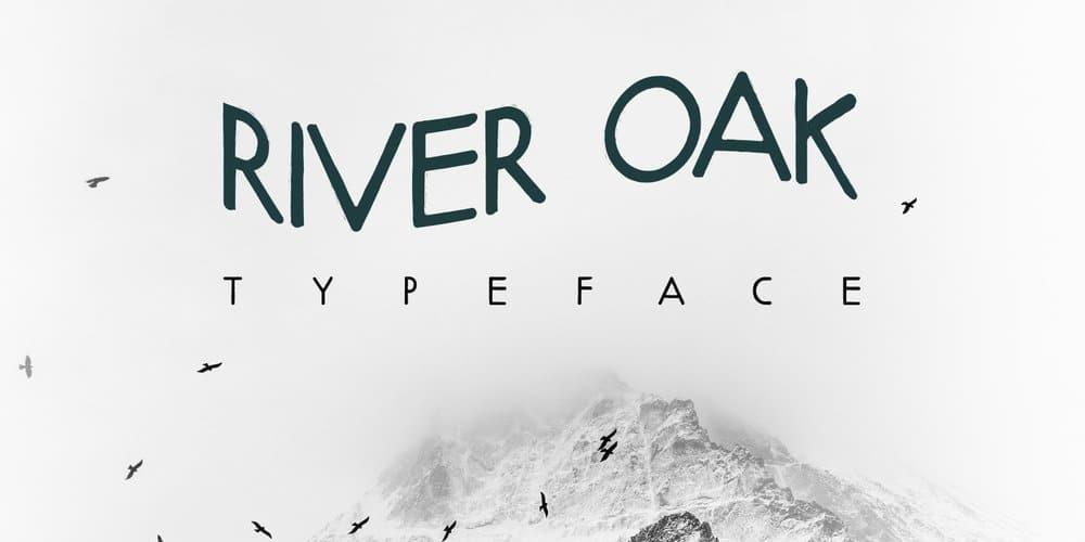 River Oak Free Font