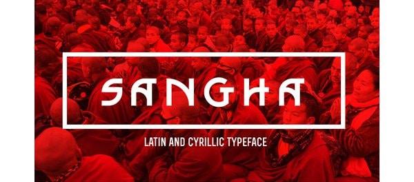 Sangha Free Font