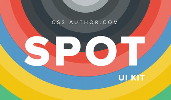 Spot UI Kit PSD CSS Author