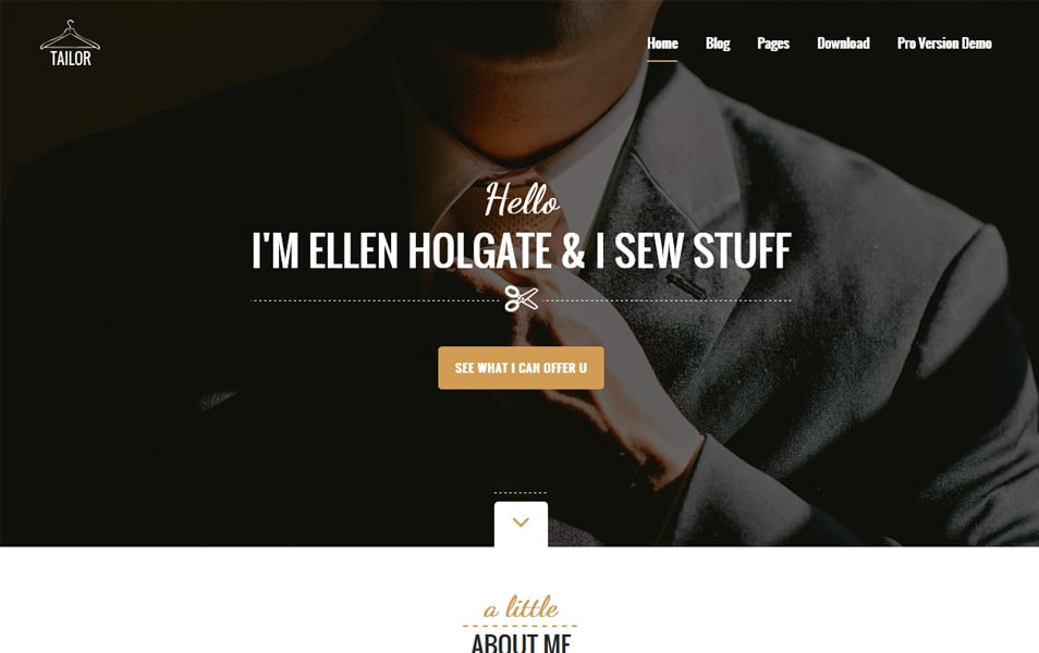 Tailor Responsive WordPress Theme