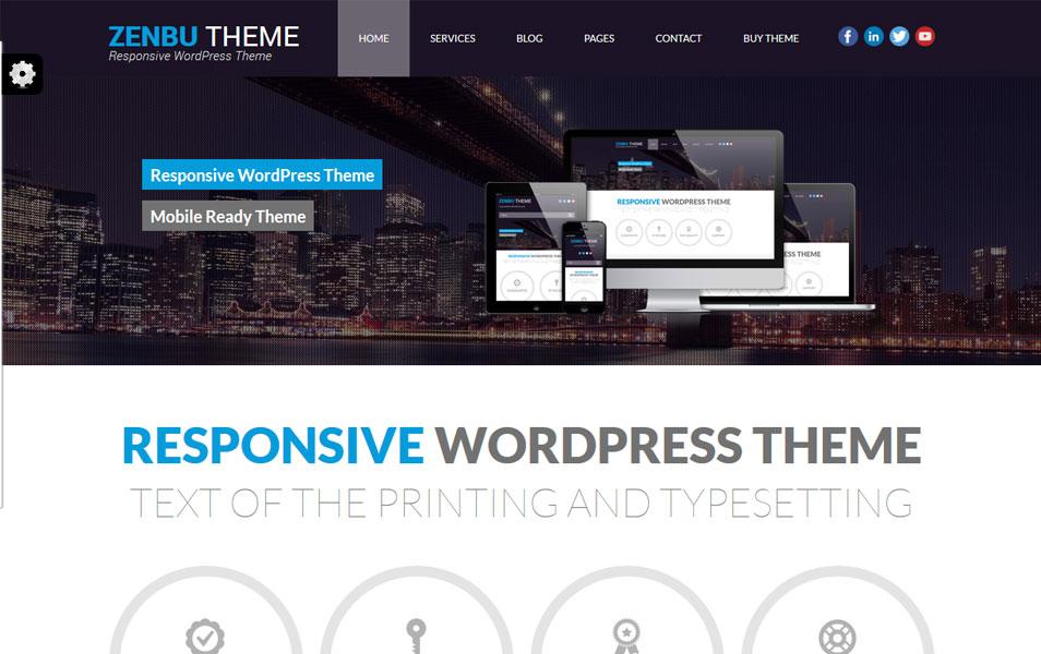 Zenbu Free – Responsive WordPress Theme